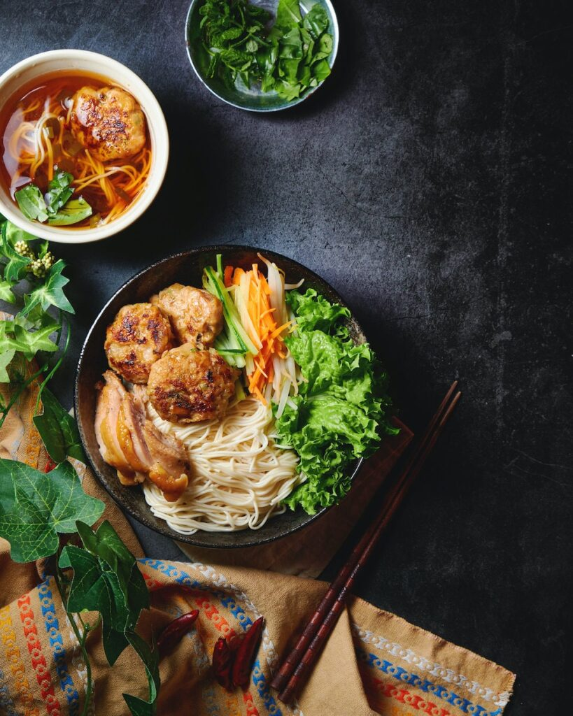 夏に食べたいアジア麺、ベトナム風お素麺アレンジ