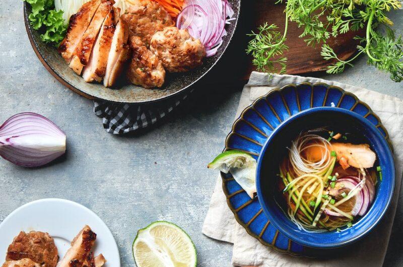 ベトナム風つけ麺|ブン・チャ