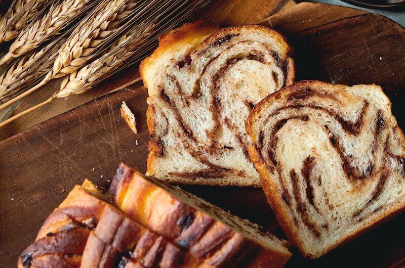 マロンとチョコレートのバターリッチな食パン|バブカ風